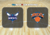 Charlotte Hornets vs New York Knicks