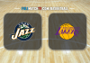 Utah Jazz vs Los Angeles Lakers