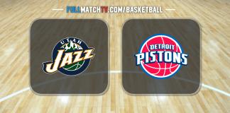 Utah Jazz vs Detroit Pistons