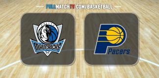 Dallas Mavericks vs Indiana Pacers