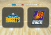 Denver Nuggets vs Phoenix Suns