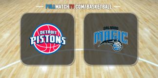 Detroit Pistons vs Orlando Magic