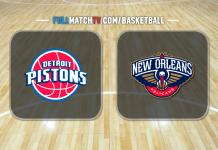 Detroit Pistons at New Orleans Pelicans