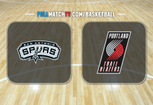 San Antonio Spurs vs Portland Trail Blazers