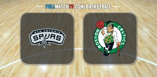 San Antonio Spurs vs Boston Celtics