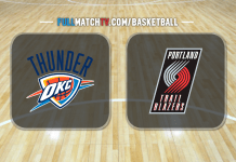 Oklahoma City Thunder vs Portland Trail Blazers