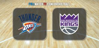 Oklahoma City Thunder vs Sacramento Kings