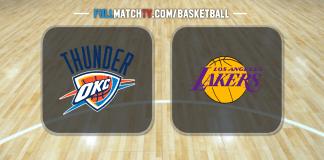 Oklahoma City Thunder vs Los Angeles Lakers