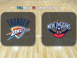 Oklahoma City Thunder vs New Orleans Pelicans