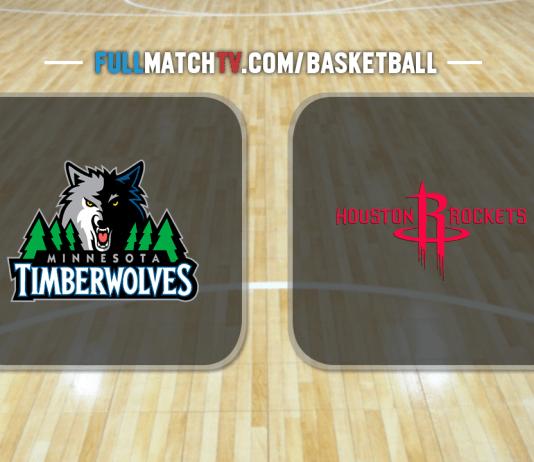 Minnesota Timberwolves vs Houston Rockets