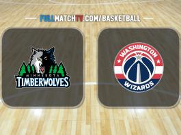Minnesota Timberwolves vs Washington Wizards
