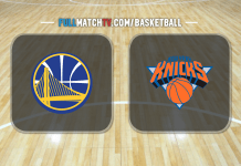 Golden State Warriors vs New York Knicks