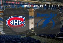 Montreal Canadiens vs Tampa Bay Lightning