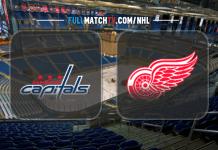 Washington Capitals at Detroit Red Wings