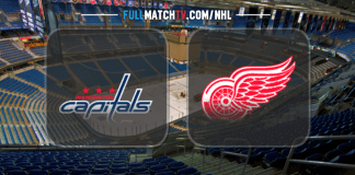 Washington Capitals at Detroit Red Wings