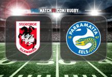 St. George-Illawarra Dragons vs Parramatta Eels