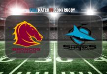 Brisbane Broncos vs Cronulla-Sutherland Sharks