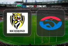 Richmond Tigers vs Western Bulldogs