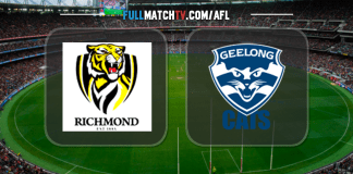 Richmond Tigers vs Geelong Cats