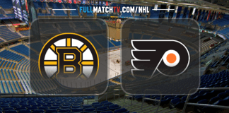 Boston Bruins vs Philadelphia Flyers