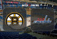 Boston Bruins vs Washington Capitals