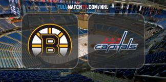Boston Bruins vs Washington Capitals