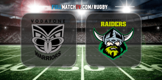 New Zealand Warriors vs Canberra Raiders