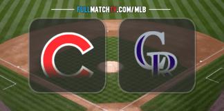 Chicago Cubs vs Colorado Rockies