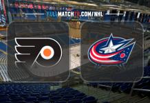 Philadelphia Flyers vs Columbus Blue Jackets