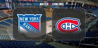 New York Rangers vs Montreal Canadiens