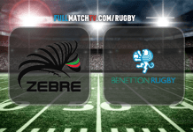 Zebre vs Benetton Treviso