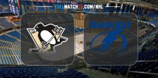Pittsburgh Penguins vs Tampa Bay Lightning