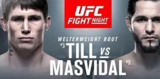 UFC Fight Night 147: Till vs. Masvidal