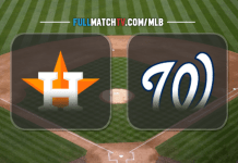 Houston Astros vs Washington Nationals