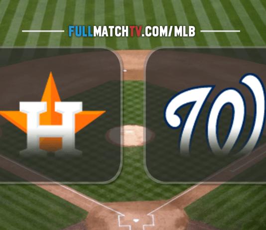 Houston Astros vs Washington Nationals
