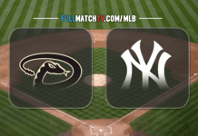Arizona Diamondbacks vs New York Yankees
