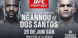 UFC on ESPN Ngannou vs dos Santos