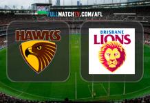 Hawthorn Hawks vs Brisbane Lions