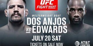 UFC on ESPN dos Anjos vs Edwards