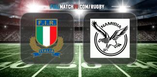 Italy vs Namibia
