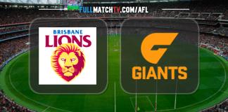 Brisbane Lions vs GWS Giants