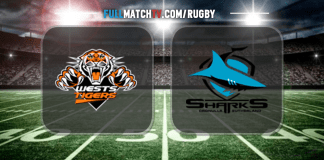 Wests Tigers vs Cronulla-Sutherland Sharks