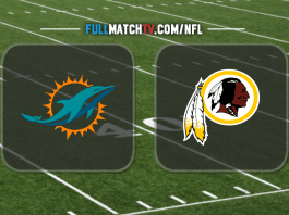 Miami Dolphins vs Washington Redskins