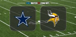 Dallas Cowboys vs Minnesota Vikings