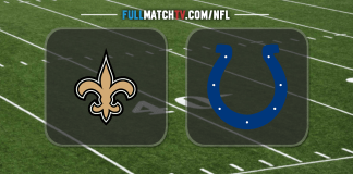 New Orleans Saints vs Indianapolis Colts