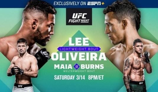 UFC Fight Night 170: Lee vs Oliveira