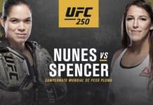 UFC 250 Nunes vs Spencer