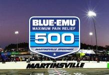 NASCAR Blue-Emu Pain Relief 500