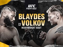 UFC on ESPN Blaydes vs Volkov
