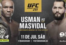 UFC 251 Usman vs Masvidal
